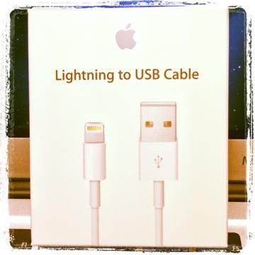 Apple Lightning ケーブルが届いたから開封してみた件