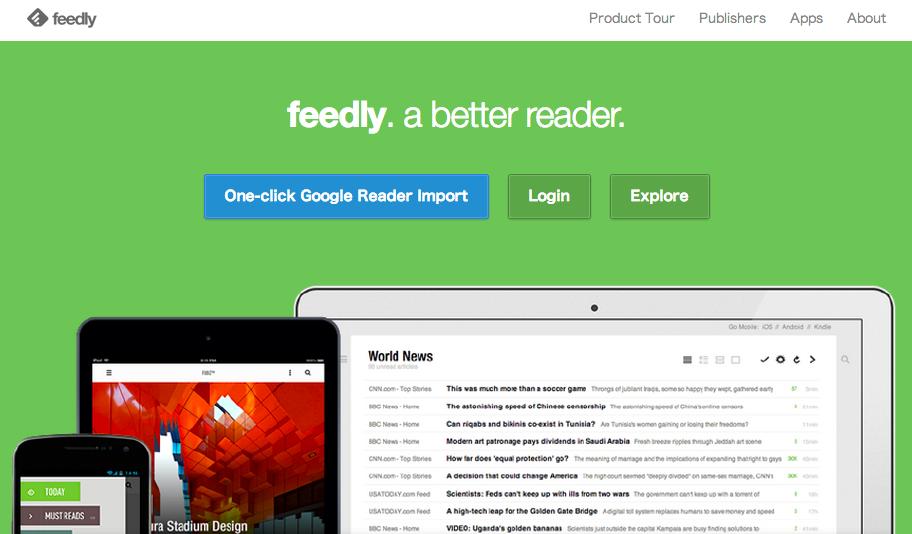 [Google]いよいよGoogleReaderが終焉を向かえます