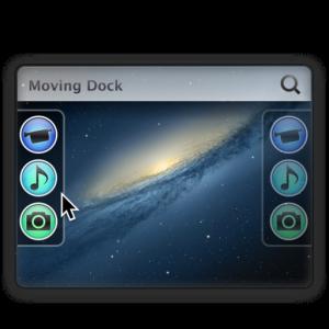 [Mac][アプリ]Dockが左右+下に自動移動する「Moving Dock」が便利だった件