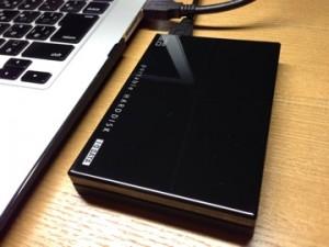 [HDD][ガジェット]軽くて小さい1TBのポータブルハードディスクを購入してよかった件