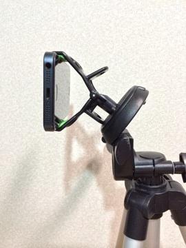 [iPhone][カメラ]iPhoneを固定する「Clasp for smartphone」を購入して早速夜景撮影してみた件
