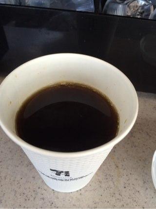 出来上がりコーヒー