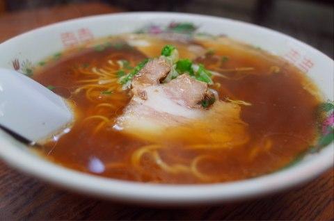 [山口][ラーメン]レトロな街にあるノスタルジックなまつき食堂の中華そばが涙するほど旨かった件