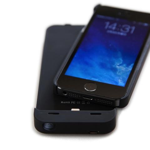 [iPhone]コスパ最高!着脱可能・microUSB対応の一体型iPhoneバッテリー&ケース「cheero Power Case for iPhone 5/5S」購入の件