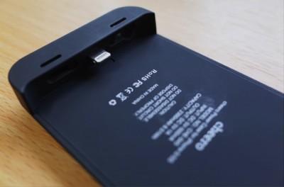 [iPhone][ケース]着脱可能バッテリー&ケース「cheero Power Case for iPhone 5/5S」が安心感絶大な件