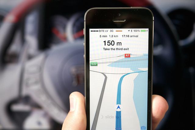 [iPhone][アプリ]標準地図アプリ「マップ」ってすごいんだ!と感激してしまうほどに驚いた件
