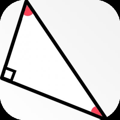 [iPhone][アプリ]サイン・コサイン・タンジェント(sin・cos・tan)が直感的でわかりやすいアプリがありますよ