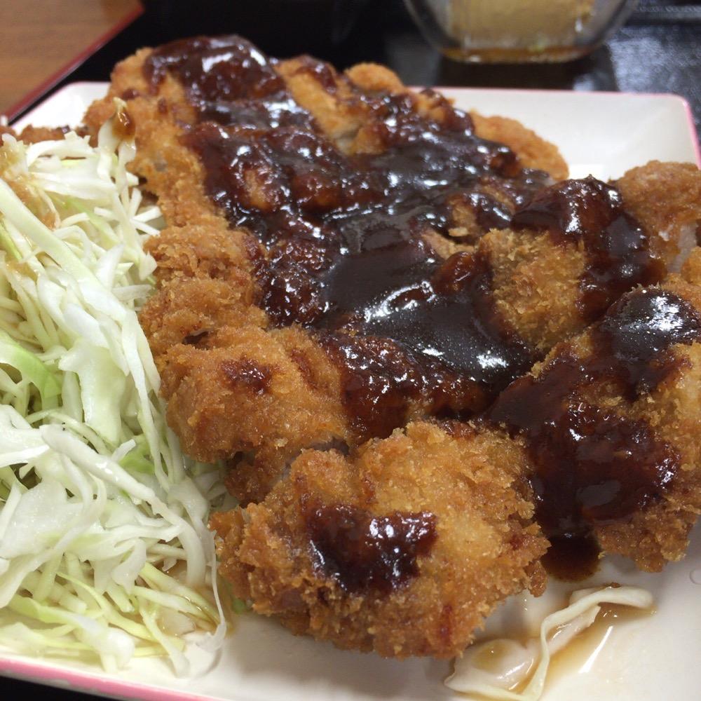 チキンカツ定食-2