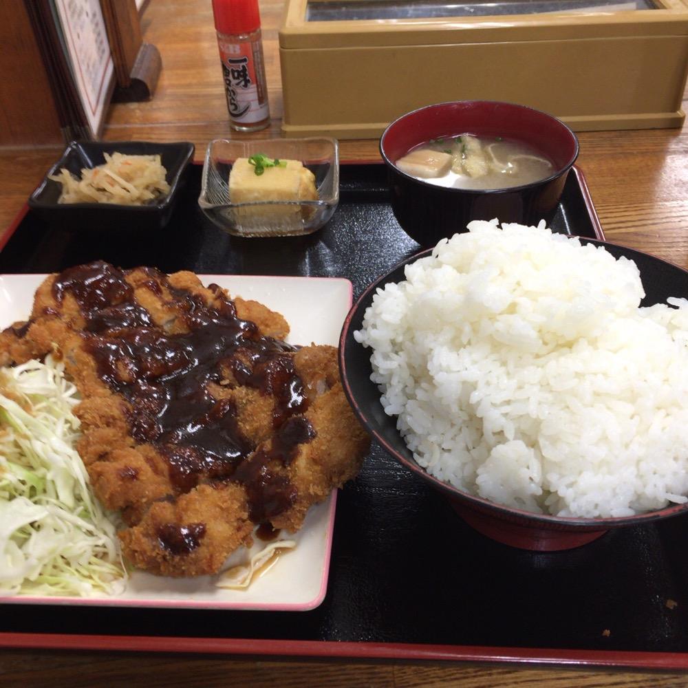 チキンカツ定食-1
