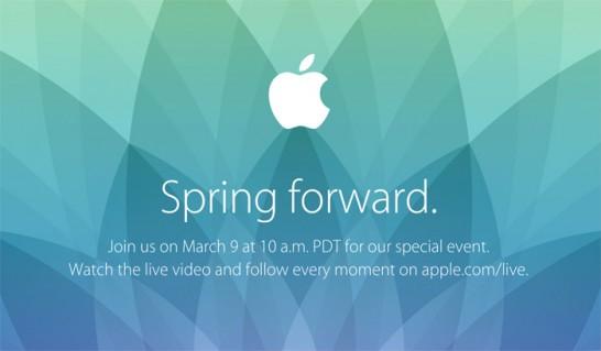 [Apple]いよいよ今夜はスペシャルイベント「Spring Forward.」「Apple Watch」が気になる!