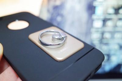 [バンカーリング]iPhoneなどに取り付けた強力粘着力のバンカーリングを簡単に取り外す一つの方法