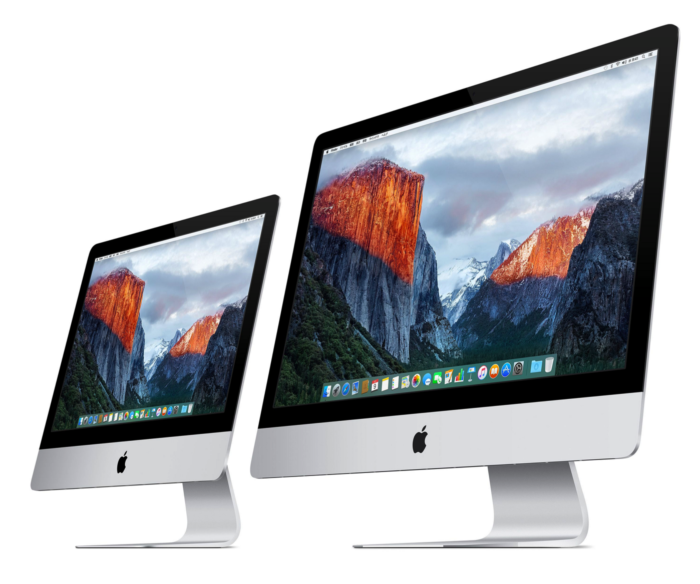 [iMac]ついに登場!21.5インチ型「iMac 4K Retinaディスプレイモデル」 27インチも刷新!