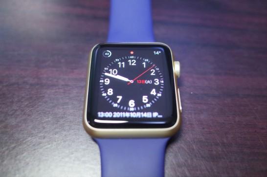 [AppleWatch]AppleWatchでスクリーンショットを撮ってみたよ