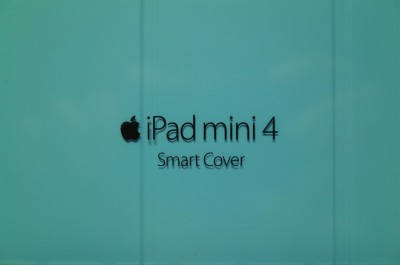 [Apple]iPad mini 4の純正スマートカバー対応の背面シェルカバー クリアを購入したよ