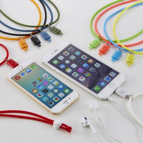 [iPhone]人柱になってみる「Lightningコネクター用ネックストラップ」を注文してみたよ