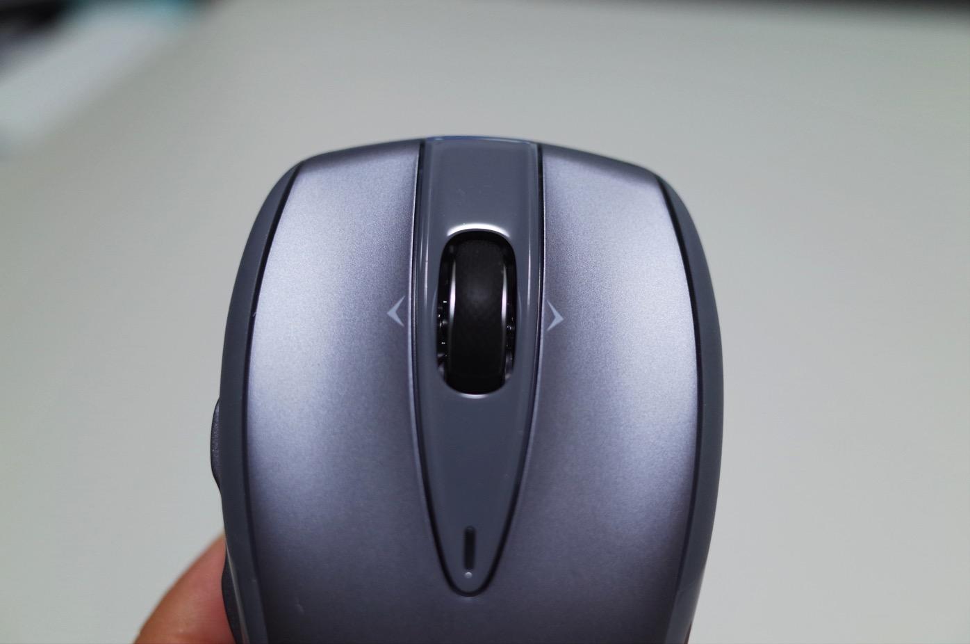 Logicool ロジクール ワイヤレスマウス シルバー M545SV-10