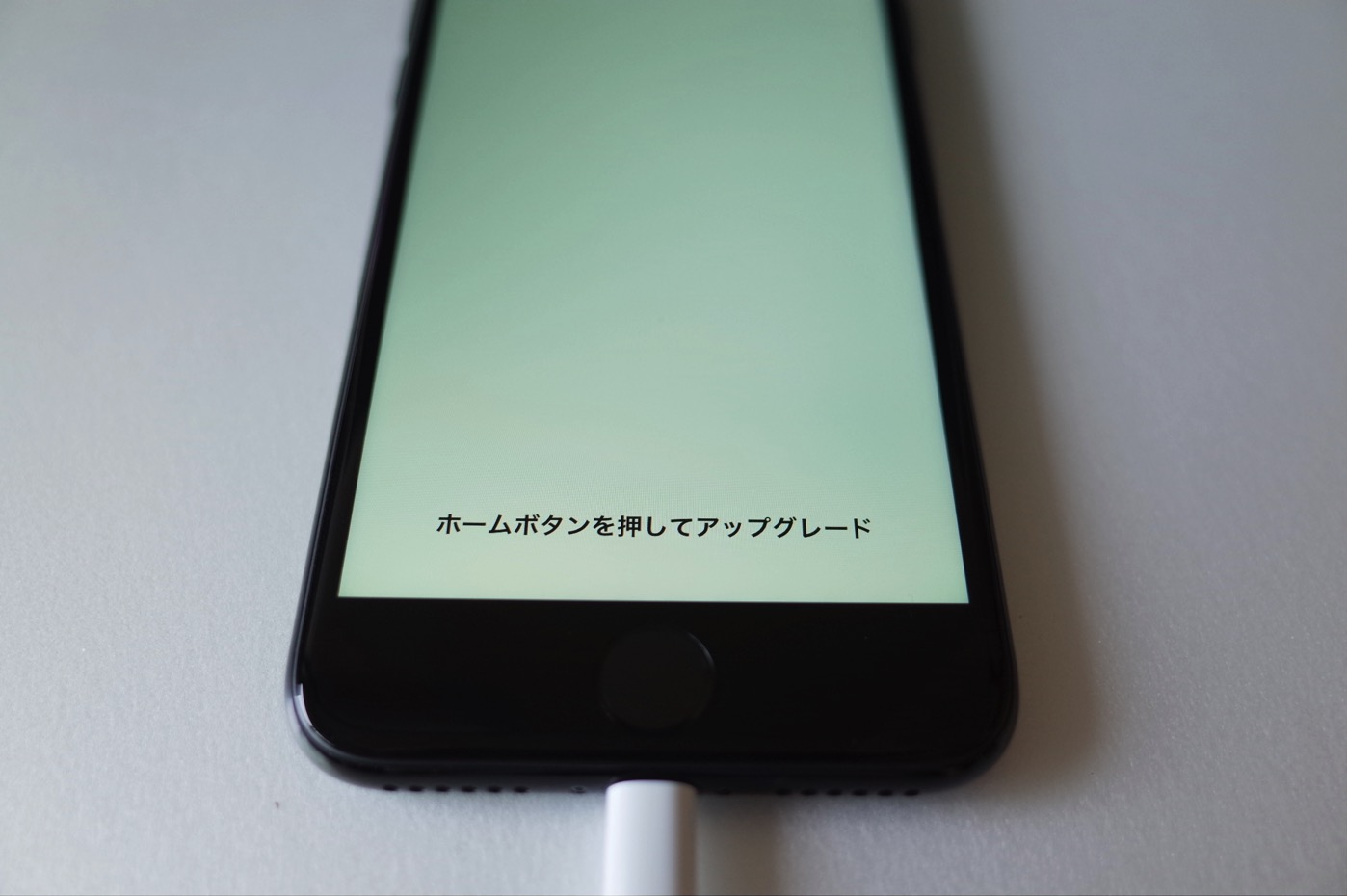 iPhone 7 ジェットブラック 256GB-19