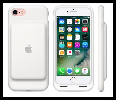 [iPhone]新型iPhone 7 にiPhone 6s 用のSmart Battery Caseを装着してみたよ