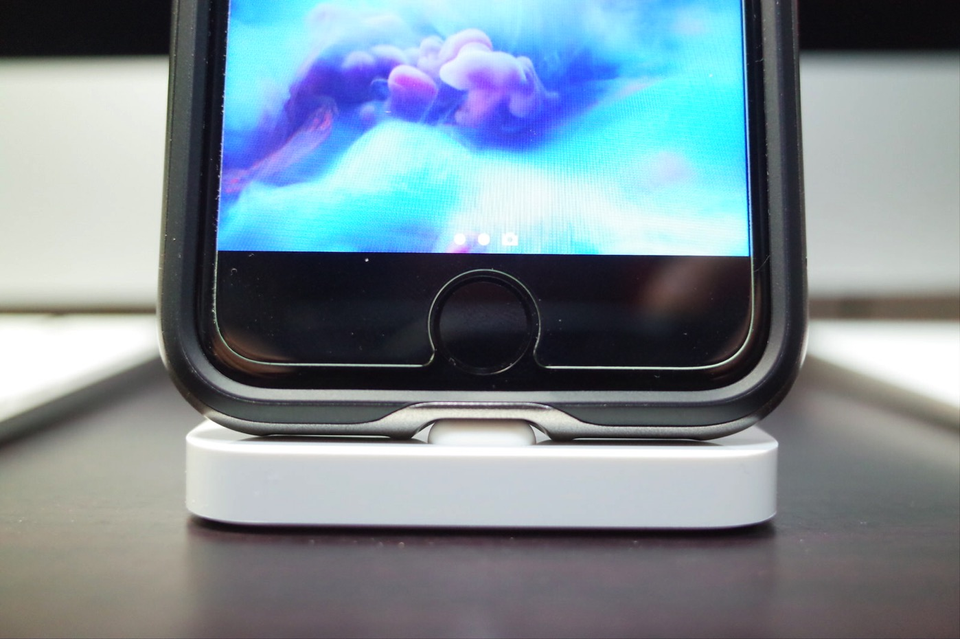 【Spigen】 iPhone7 ケース, ネオ・ハイブリッド [ 米軍MIL規格取得 二重構造 バンパー ] アイフォン 7 用 カバー (iPhone7, ガンメタル)-6