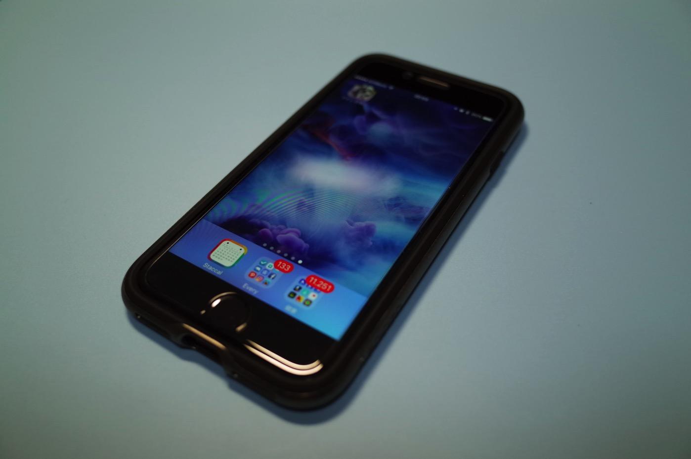 iPhoneケース「ネオ・ハイブリッド米軍MIL規格取得 二重構造バンパー」