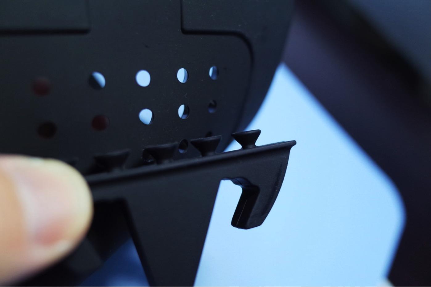 EReachシリコンスマートフォン・携帯車載GPSホルダー ダッシュボード iPhone&Android スタンド (黒)-7