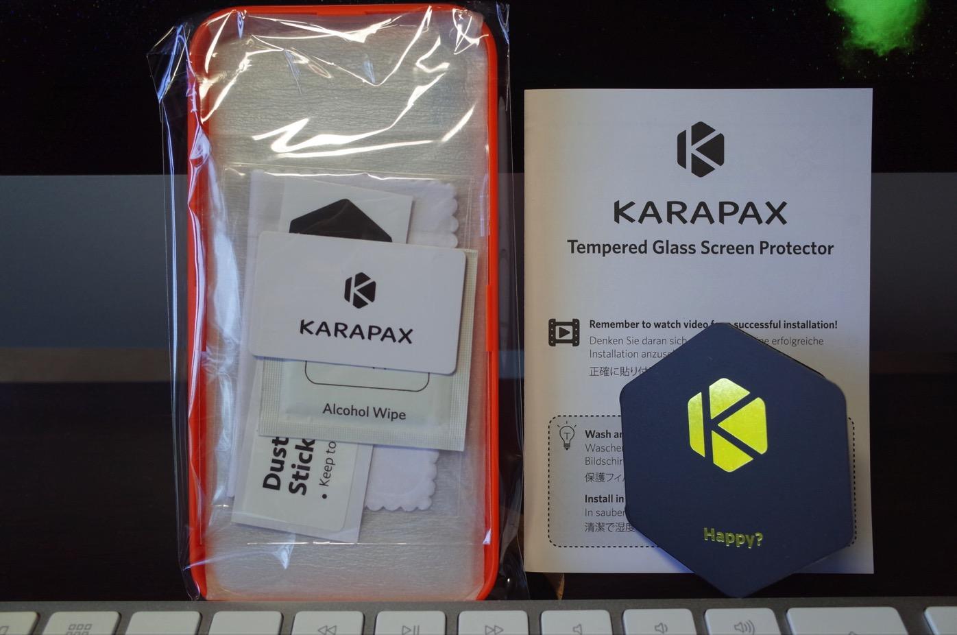 Anker KARAPAX GlassGuard iPhone X用 強化ガラス液晶保護フィルム-6