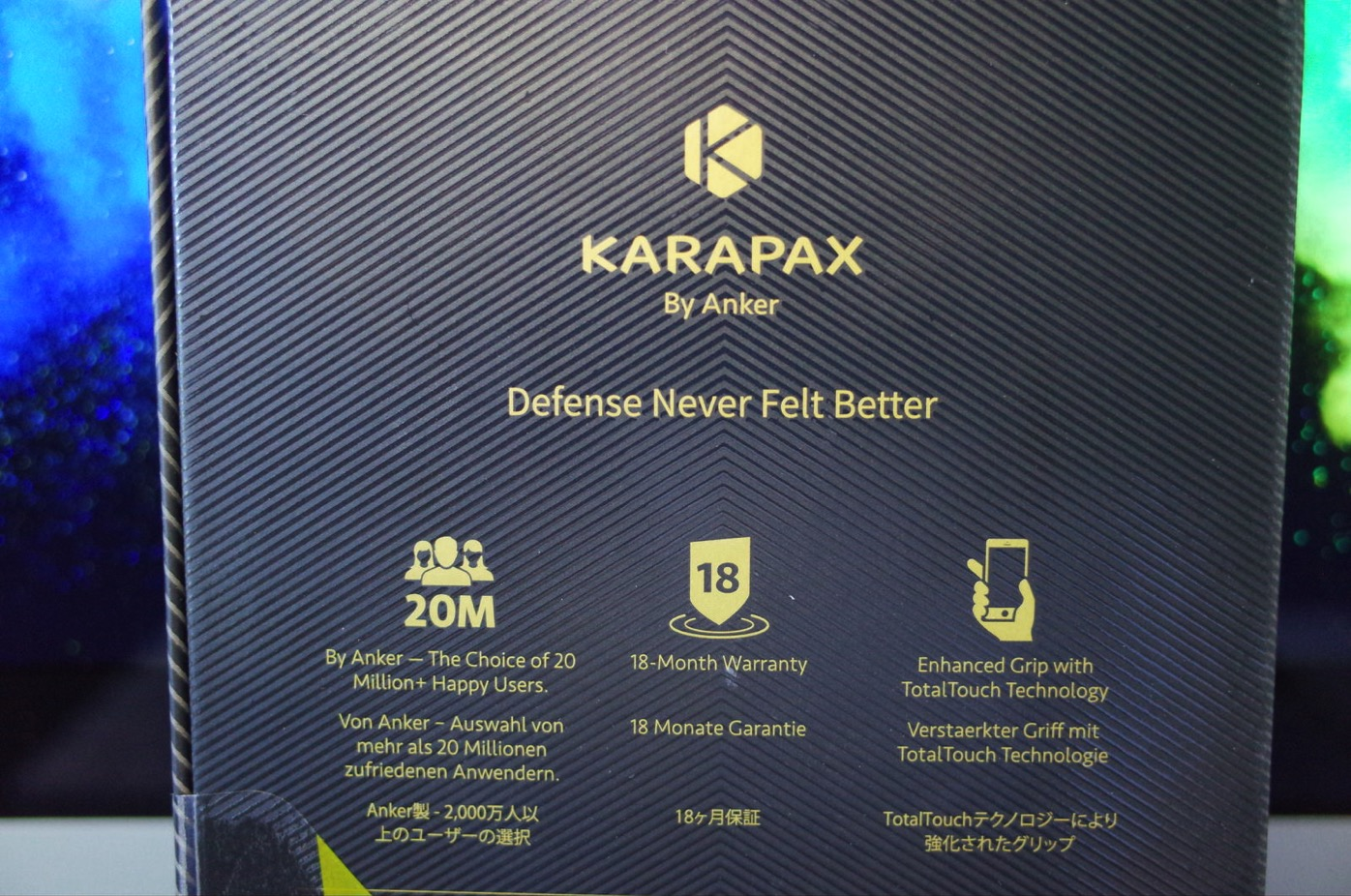 Anker KARAPAX GlassGuard iPhone X用 強化ガラス液晶保護フィルム-3