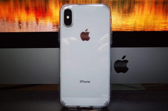[iPhone]ベストセラー1位の「iPhone X」用に購入したSpigen 米軍MIL規格取得 落下 衝撃 吸収 ウルトラ・ハイブリッド 耐衝撃 カバーがジャストフィット
