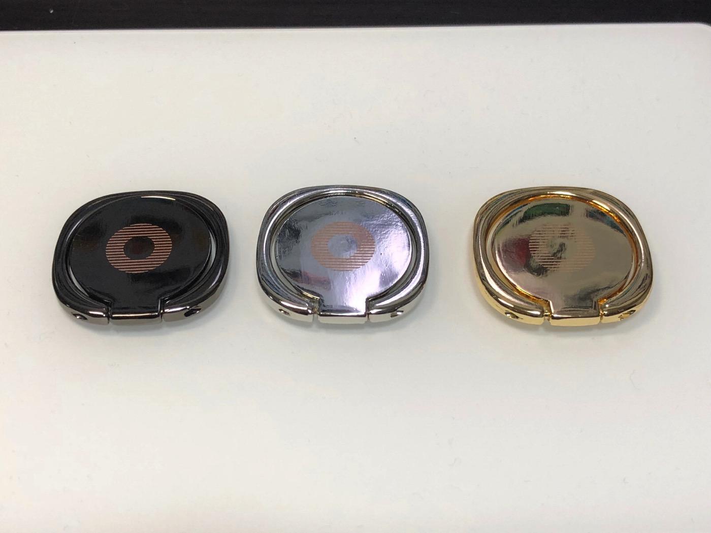 Gogogu 3入り スマホ バンカーリング 携帯 360回転 iphoneボルター-2