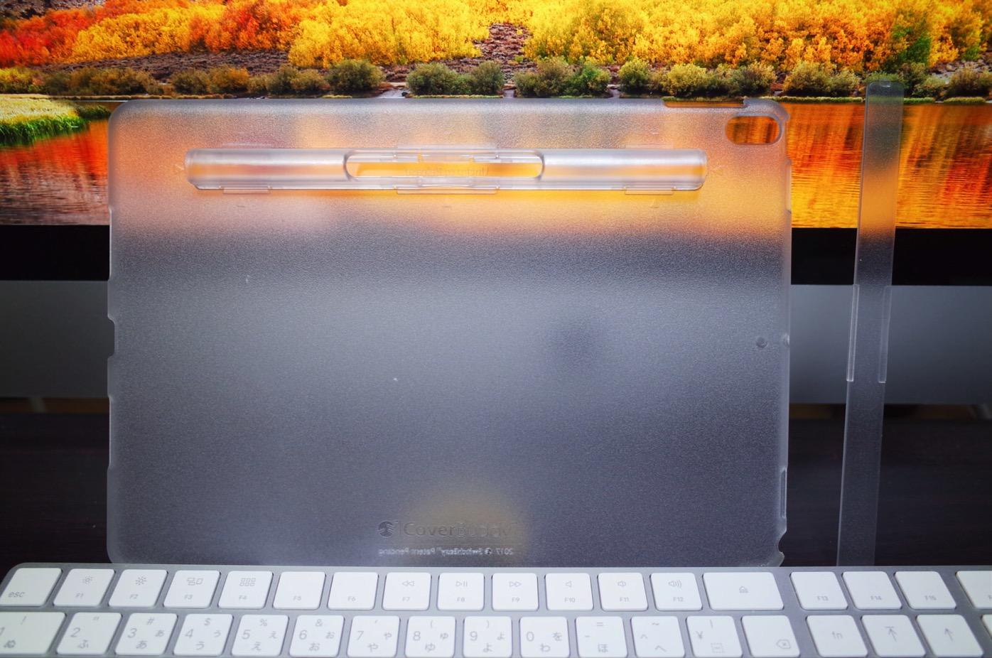 iPad Pro 10.5 ケース SwitchEasy CoverBuddy ハード バック カバー Apple Pencil 収納付き 純正 スマートキーボード 対応-6