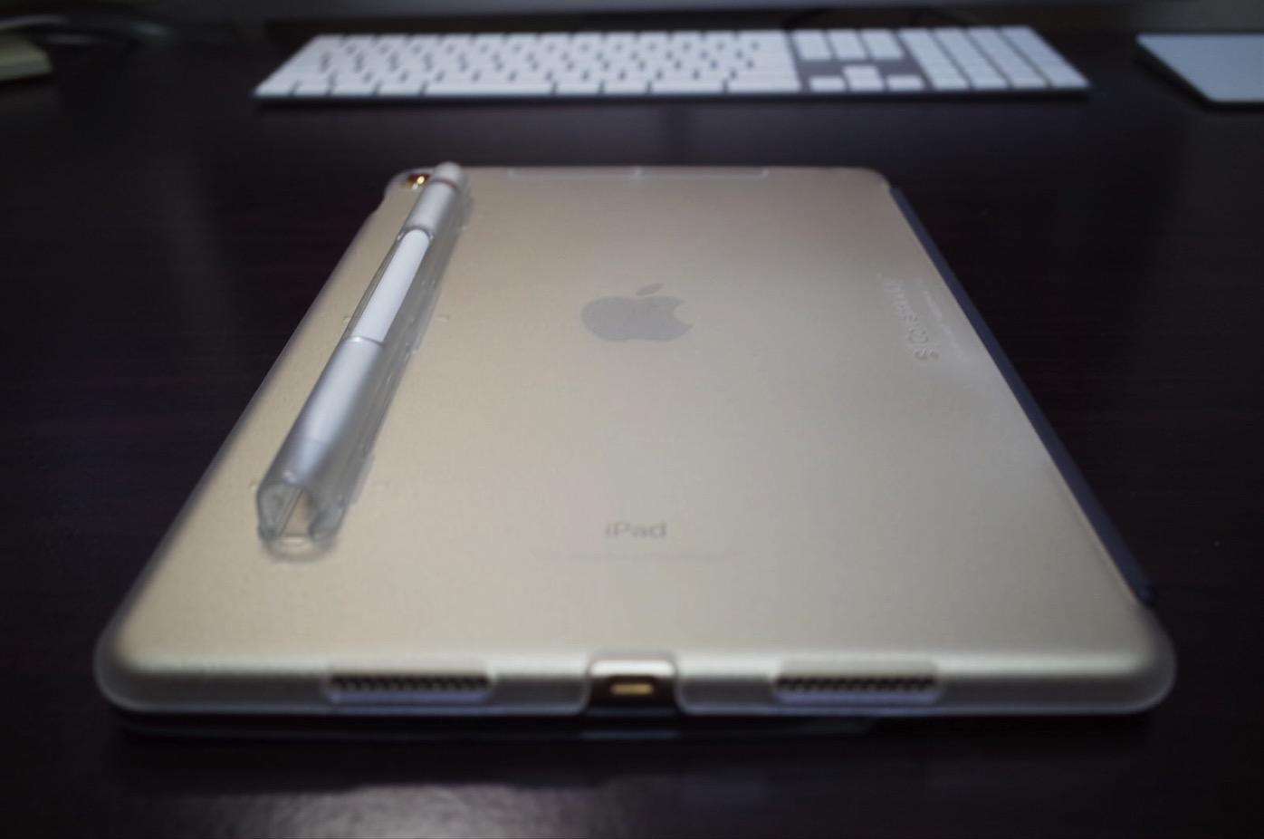 iPad Pro 10.5 ケース SwitchEasy CoverBuddy ハード バック カバー Apple Pencil 収納付き 純正 スマートキーボード 対応-7
