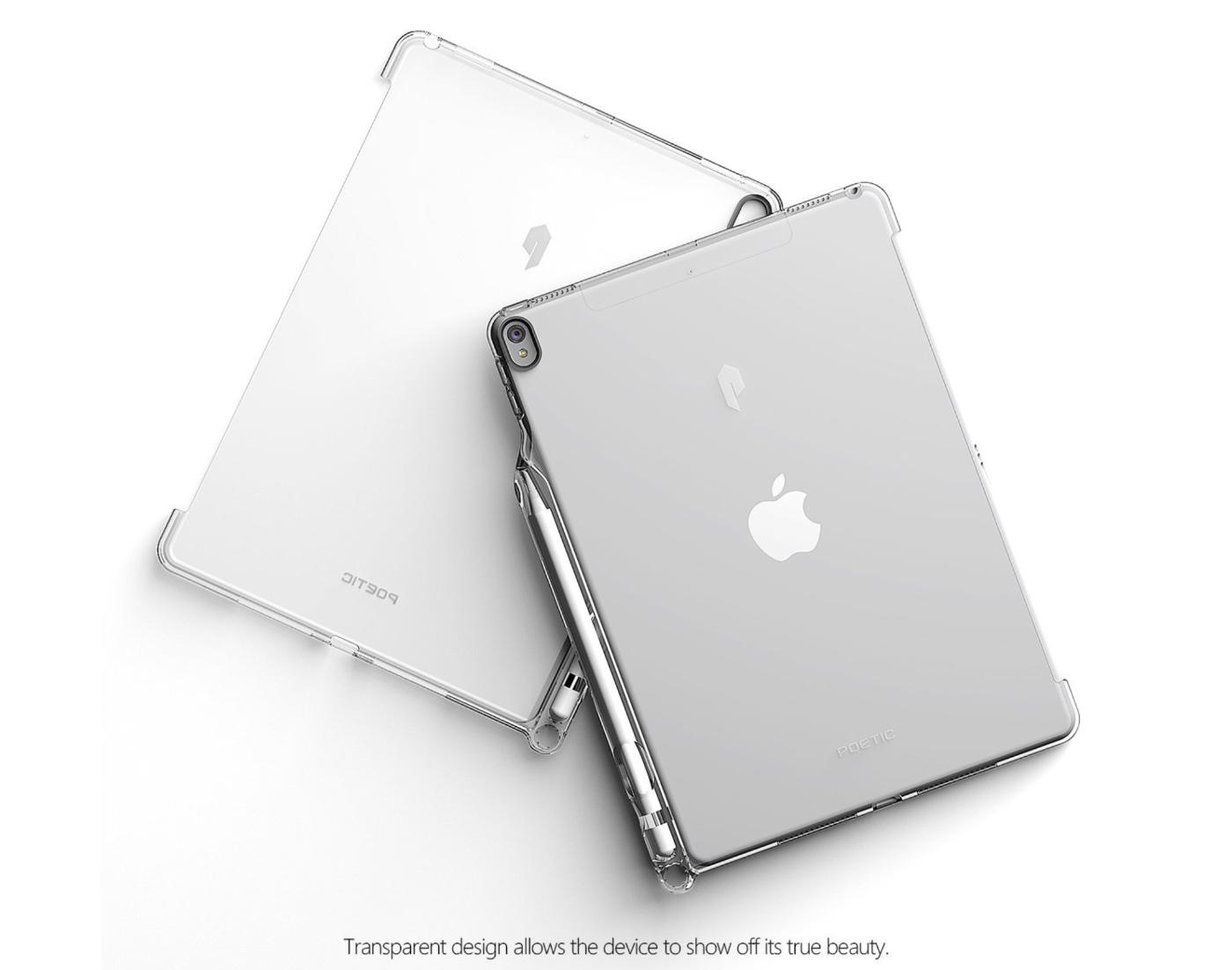 Apple Pencil」収納スロット&「Smart Keyboard」対応iPad Pro 10.5 ケース Poetic-5