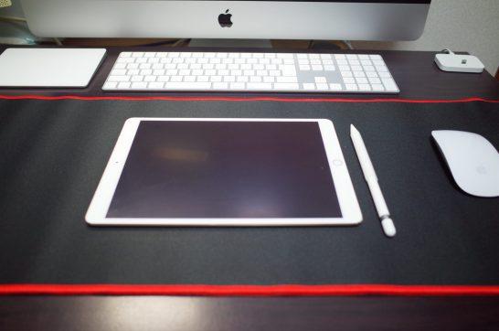 [Amazon]超大型ゲーミングマウスパッドでiPad Pro、Magic Keyboard、Magic Mouseの操作性が快適になったよ