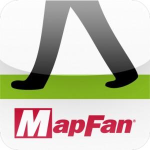 [iPhone][アプリ]「かざせば道が見える」MapFan eyeでナビってみた
