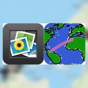 [iPhone][アプリ][住所]自分がどこにいるのか知りたいときの一つの簡単な方法