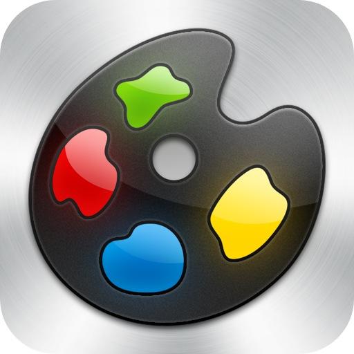 [iPhone][iPad mini]iPhoneやiPad miniで描かれたスティーブ・ジョブズの肖像画がすごい