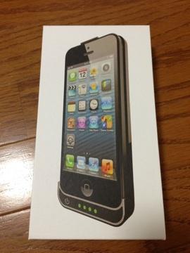 [iPhone][ケース]iPhone 5用バッテリーケースが届いたのでプチ開封の儀