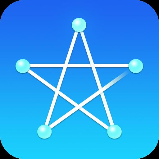 [iPhone][アプリ]正月脳から仕事脳への活性化絶大!「一筆書き」が面白い!