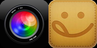 [iPhone][アプリ]静音カメラの雄「OneCam」から食べもの日記系SNS「miil」への連携コラボで向かう所敵なしとなった