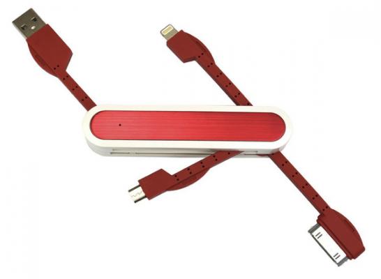 [Amazon]アーミーナイフ型Lightningケーブル iPhone5s iPhone4 Android microUSB 30pinがよさそう
