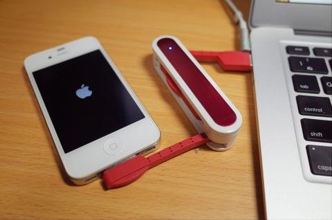 [Amazon]アーミーナイフ型Lightningケーブル iPhone5s iPhone4 Android microUSB 30pinが届いたので早速使ってみたよ