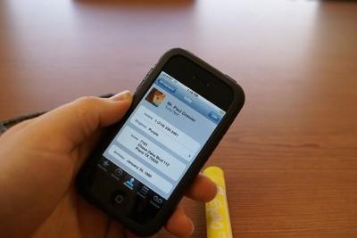 [iPhone][Address]簡単に自分の電話番号を知る方法