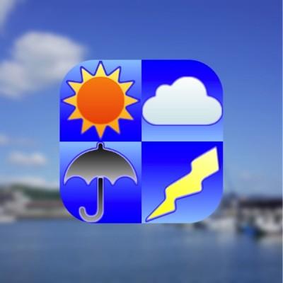[iPhone][天気]iPhone 6/6 Plus対応「周辺便利天気」忙しい朝や一度に確認したい方に向いてますよ