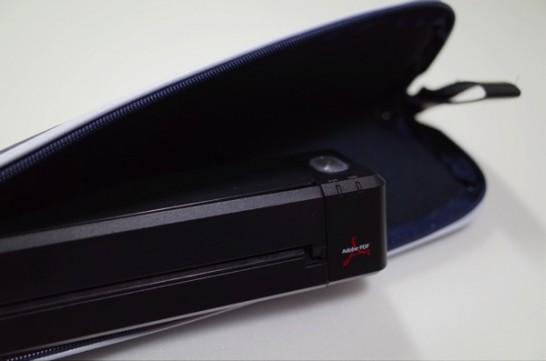 [ScanSnap]ScanSnap iX100のモバイルケースが届いたので早速開封の儀と収納具合を試してみたよ