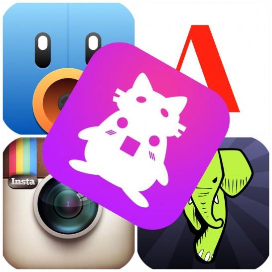 [iPhone]今日は主要アプリのアップデート祭りだ!iPhone 6/6 Plusで快適操作~♪