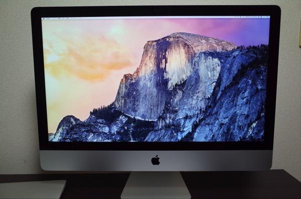 [iMac]とうとう買ってしまった27インチ iMac Retina 5K 取り敢えずご報告
