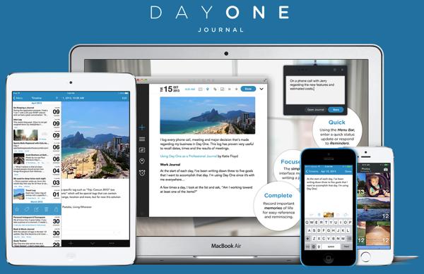 [Mac]インターフェイスが美しい日記「Day One」がセール中!1,000円が500円になってたのでポチってみたよ