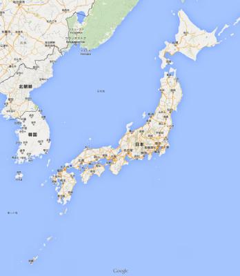 [Google][マップ]とんでもなく簡単!Googleマップで地図上に自治体境界線を一瞬で入れるひとつの方法