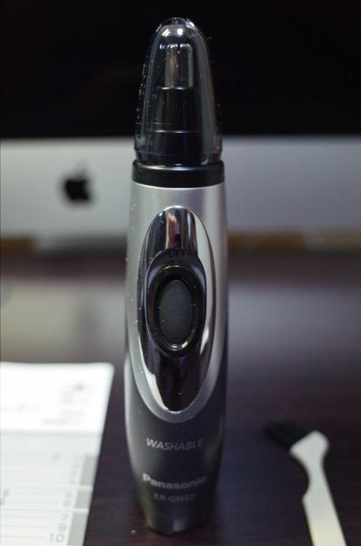 [Amazon]Panasonicエチケットカッターが届いたので早速鼻毛・眉毛・耳毛・ヒゲをカットしてみた
