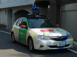 1 Google Street View Car in Tokyo